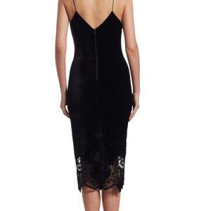 Alice & Olivia Lace Midi Length Dress